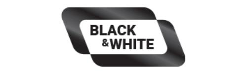Black&White Prepaid Mastercard Logo