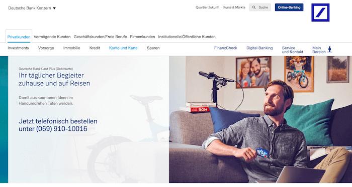 Deutsche Bank Card Plus Die Prepaid Kreditkarte Mit Mehrwert Prepaid Kreditkarte24 Net