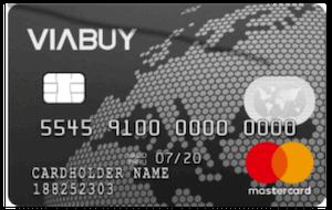 VIABUY Prepaid Mastercard Schwarz